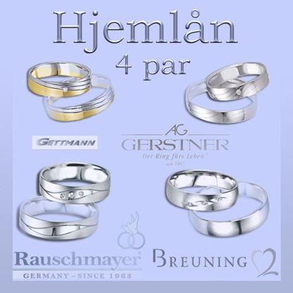 Bilde av Hjemlån av 4 par ringer