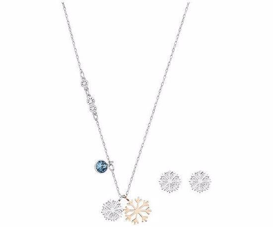 Swarovski smykkesett. Duo Snowflake - 5169397