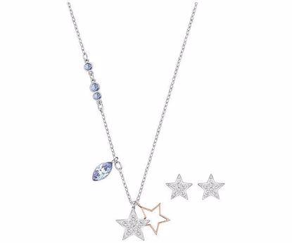 Swarovski smykkesett. Duo Star-5140839