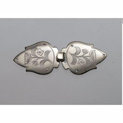 Barnespenner, graverte, Nordlandssølv - 61000