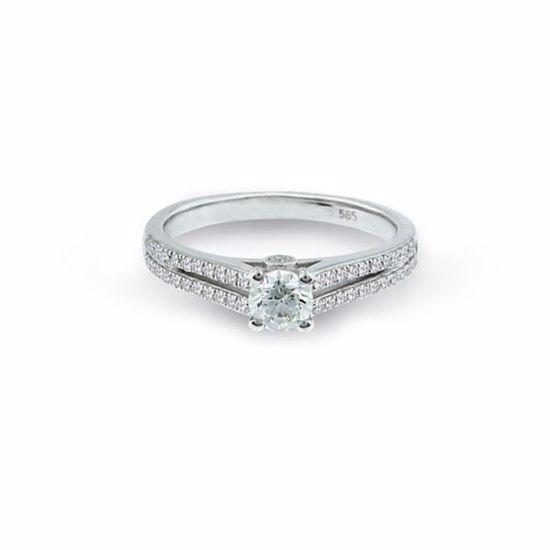Diamantring i hvitt gull med 0,47 ct W-Si-15630024