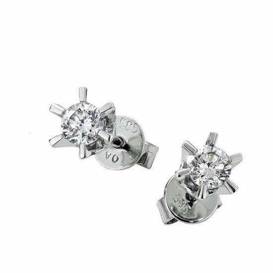 Sofia diamant øredobber med  2/0,35 ct W-Si-2120735