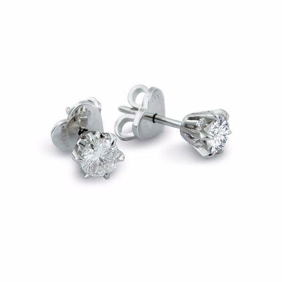 Diamant øredobber i gull med 0,70 ct TW-Si-19900070