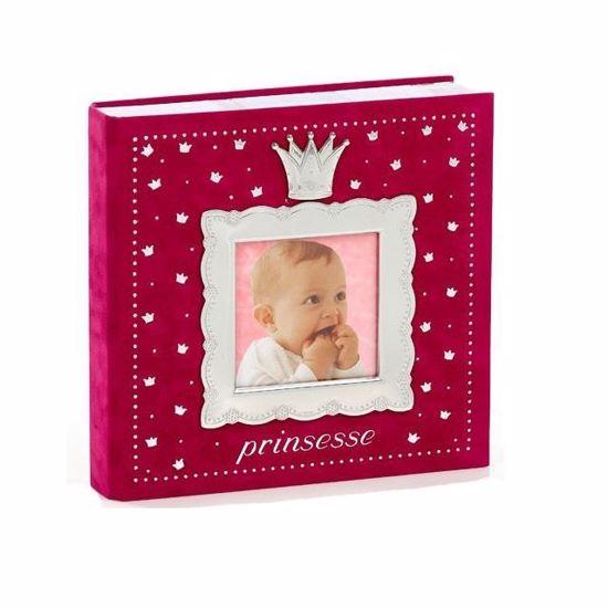Fotoalbum Prinsesse, mørk- rosa -1527