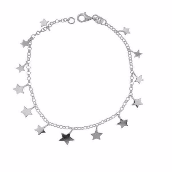 """Armbånd """"Stjerne"""" i sølv - 29919"""