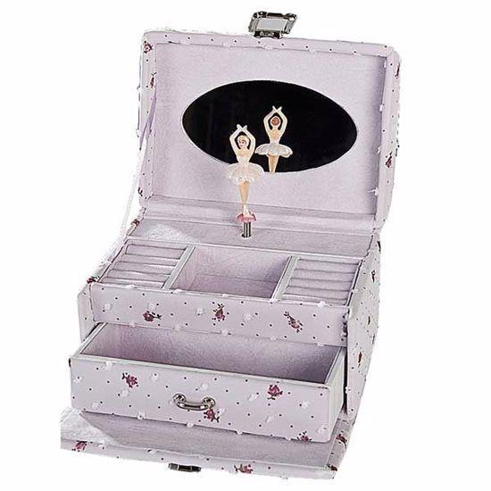Smykkeskrin med ballerina, lilla/lilla - 34065-1-L
