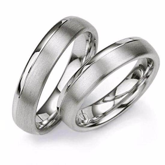 Samboerringer i sølv, 5 mm. SØLV UTEN DIAMANT - 4808022