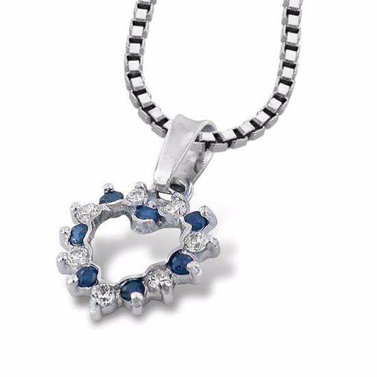Gullsmykke med zirkonia - 110615