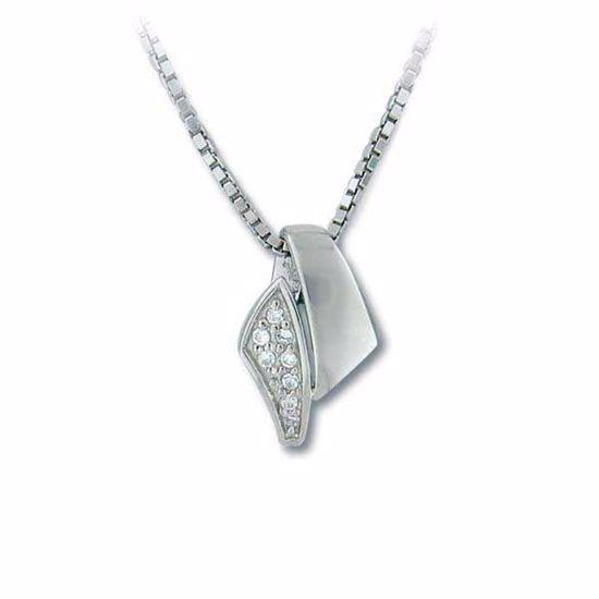 Smykke i sølv med zirkonia - 2901154