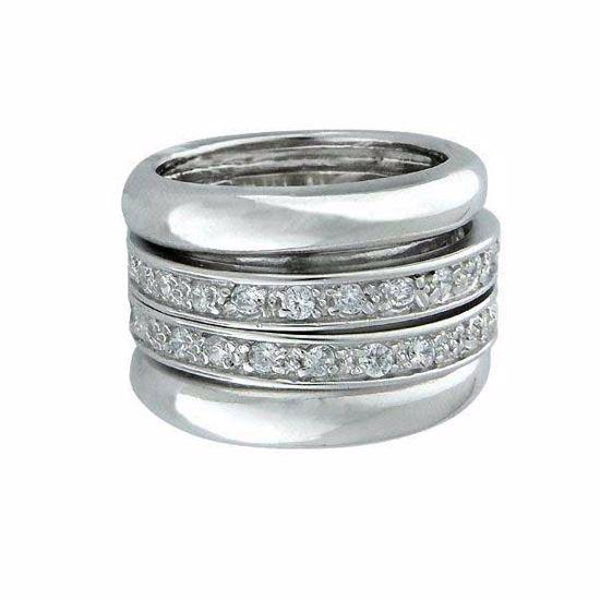 Ring i sølv med zirkonia - 170215