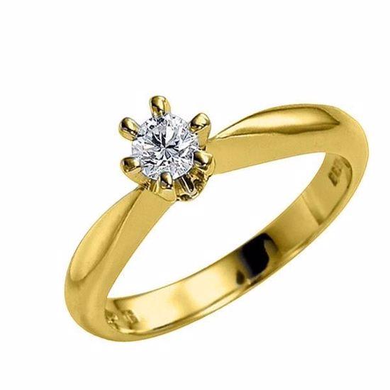 Diamantring - frierring Athene med 0,21 ct TW-Si-50326021
