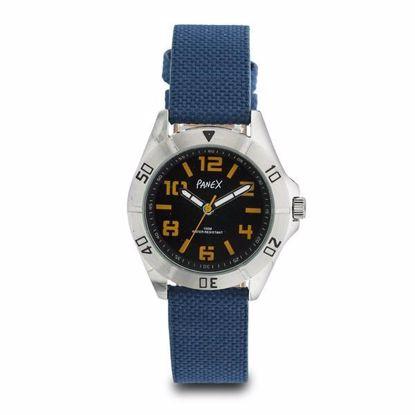 Panex Klokke med blå nylonrem-977379
