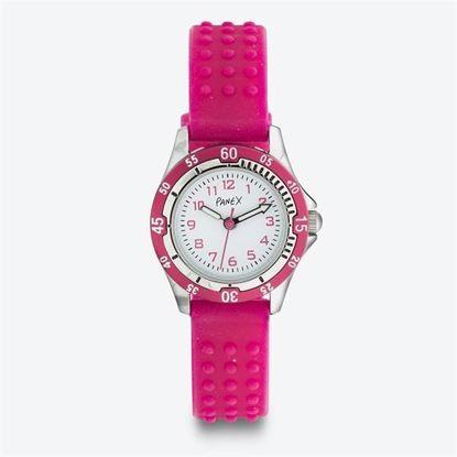 Panex Klokke med rosa silikonrem - 977374