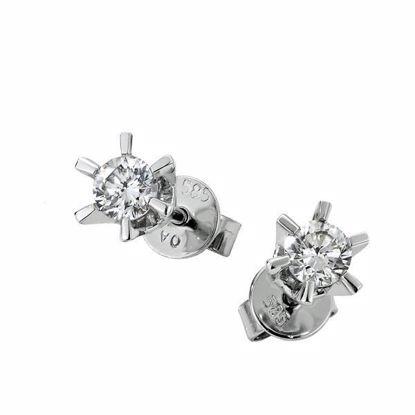 Sofia diamant øredobber med 2/0,11 ct W-Si -2120711
