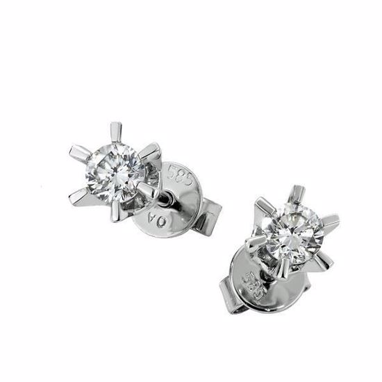 Sofia diamant øredobber med  2/0,40 ct W-Si-2120740