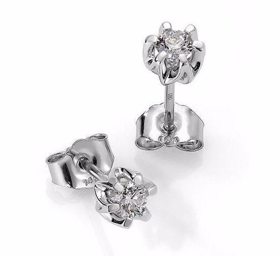 Sitara diamant øredobber med  2/0,22 ct W-Si-422122