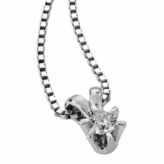Diamantsmykke Sofia i gull med 0,14 ct W-Si-1120714
