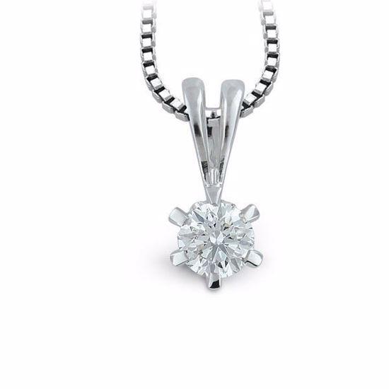 Diamantsmykke Athene i gull med 0,35 ct W-VS-10990035
