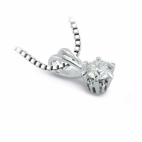 Diamantsmykke Athene i gull med 0,40 ct TW-Si-10990040