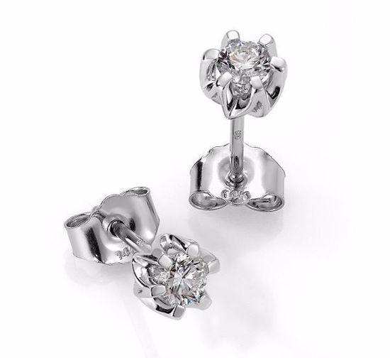 Sitara diamant øredobber med  2/0,30 ct W-Si-422130