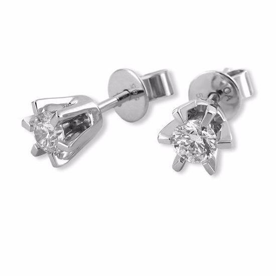 Sofia diamant øredobber med  2/0,30 ct W-Si-2120730