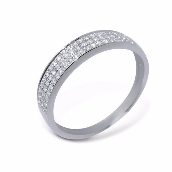 Diamantring i hvitt gull med 0,16 ct W-Si-3307016