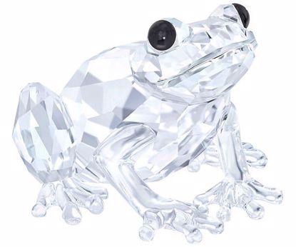 Swarovski figurer. Frog
