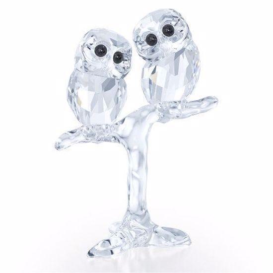 Swarovski figurer. Baby Owls