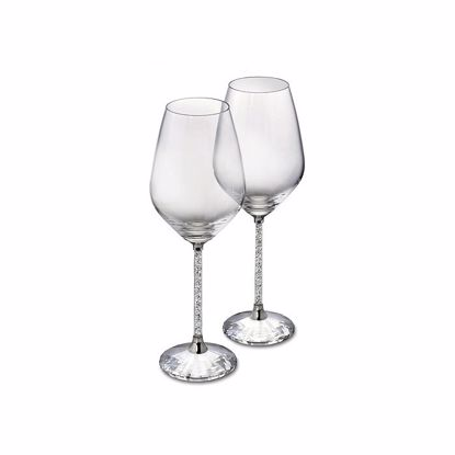 Swarovski. Crystalline White Wine Glasses (Set of 2) - 1095947