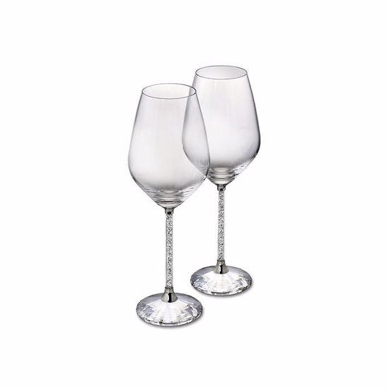 Swarovski. Crystalline White Wine Glasses (Set of 2) - 1095947