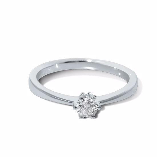 Diamantring Frøya med 0,20 ct W-Si-3105020