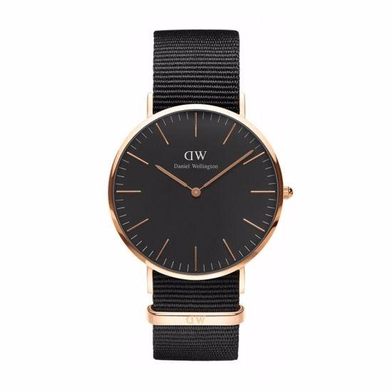 D&W herre klokke CLASSIC BLACK - CORNWALL 1