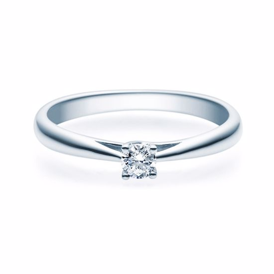 Enstens diamantring Alida 14 kt gull med 0,16 ct TW-Si.Magic Moments -18002016