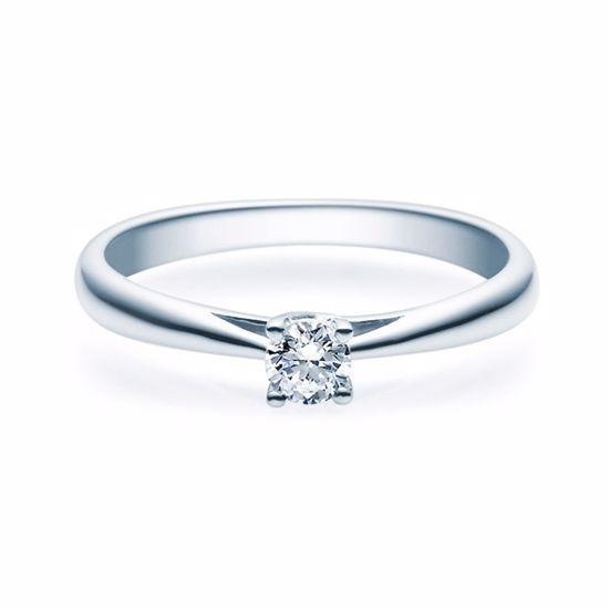 Enstens diamantring Alida Platina med 0,20 ct TW-Si.Magic Moments -18002020pt