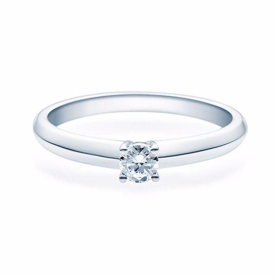 Enstens diamantring Elissa m/0,20 ct i 14kt gull. TW-Si. -18004020