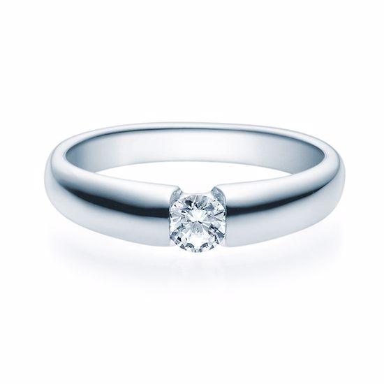 Enstens diamantring med 0,25 ct TW-Si i platina -18006025pt