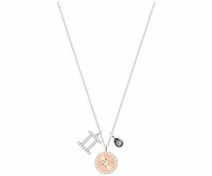 Swarovski smykke Zodiac, Gemini, Gray, Rhodium plating - 5349217