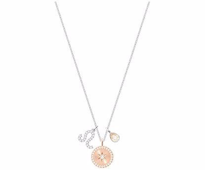 Swarovski smykke Zodiac, Leo, White, Rhodium plating -  5293512