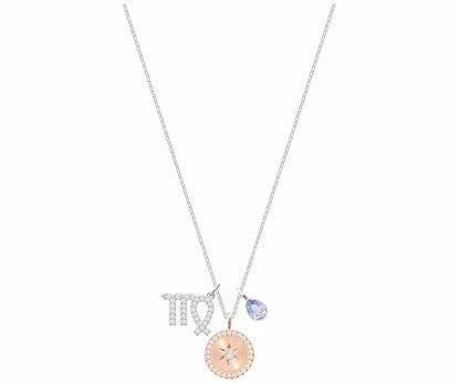 Swarovski smykke Zodiac, Virgo, Violet, Rhodium plating - 5349224