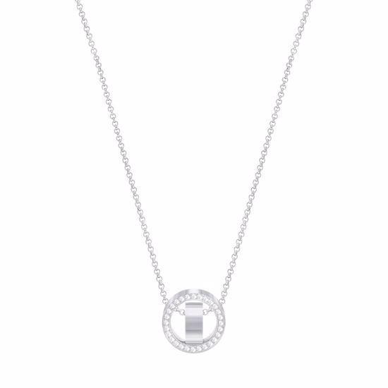 Swarovski smykke Hollow,  Rhodium plating - 5349348