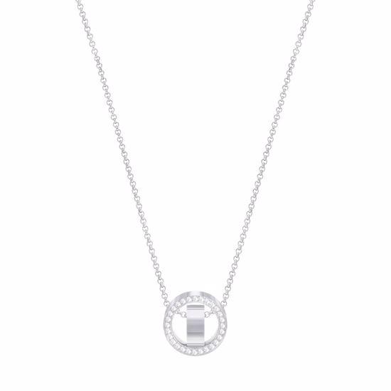 Swarovski smykke Hollow,  Rhodium plating - 5349348