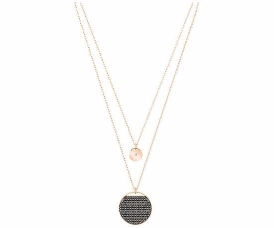 Swarovski smykke Ginger Layered, Rose gold plating- 5347299