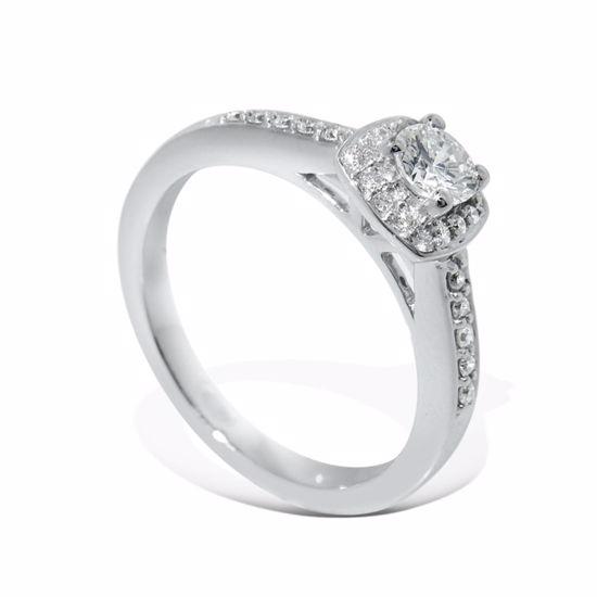Diamantring Azur med 0,32 ct W-Si - ABR00903