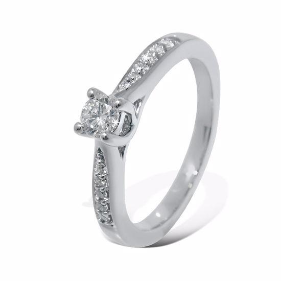 Diamantring Azur med 0,19 ct W-Si - ABR00874-1