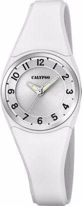 Calypso barneur 100m hvit - K5726-1