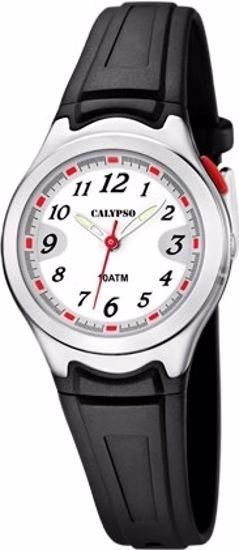 Calypso barneur 100m sort, med lys - K6067-4