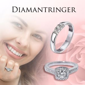 Bilde for kategori Diamantringer