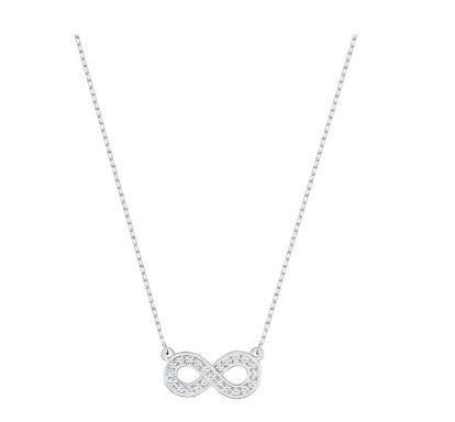 Swarovski smykke Infinity, Rhodium plating - 5358777