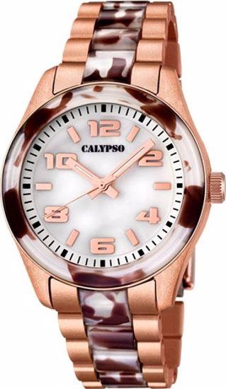 Calypso trend 50 m,lenke,brun/rose - K5648-B