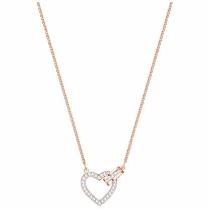 Swarovski smykke Lovely, Rose gold plating - 5368540
